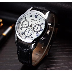 Montre business blanche...
